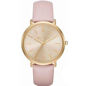 Michael Kors Accessories - Michael Kors Jaryn Leather Strap Women's Watch
